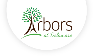 Arbors At Delaware Web Logo